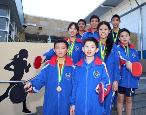 Table Tennis Rising Stars Playing At Here